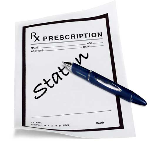 statin prescription